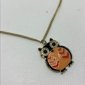 NWT Owl necklace #71